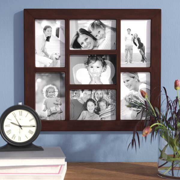 7 Opening Collage Hanging Picture Frame by Andover Mills