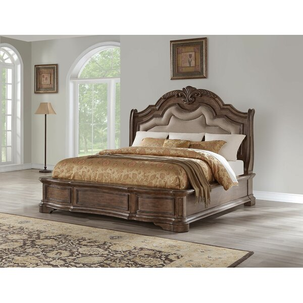 Ziggy Upholstered Standard Bed by Astoria Grand Astoria Grand
