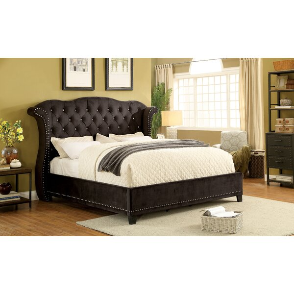 Mcduff Wingback Bed by House of Hampton
