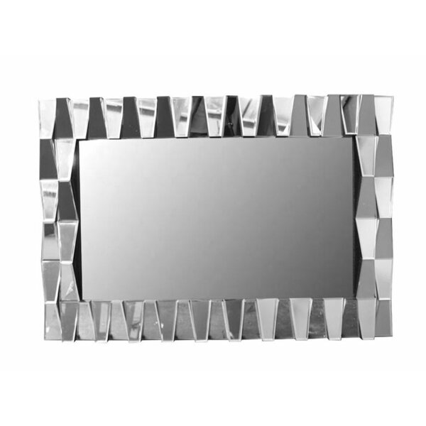 Rankin Trendy Wall Mounted Accent Mirror by Orren Ellis