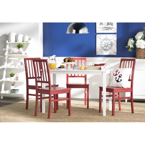 Lake Lucerne 5 Piece Dining Set by Beachcrest Home