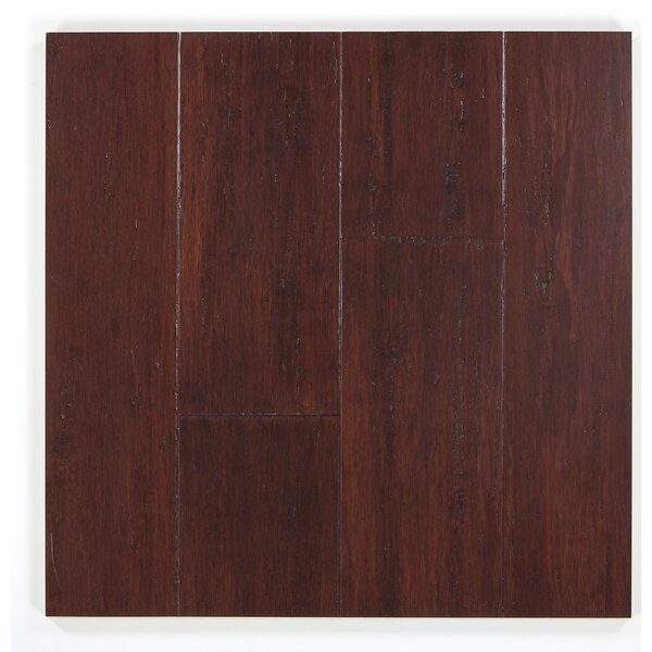 5 Engineered Bamboo  Flooring in Flintlock by Bamboo Hardwoods