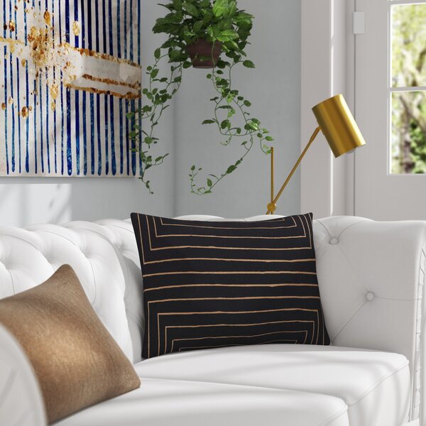 Steele Rectangular Cotton Pillow Cover by Willa Arlo Interiors