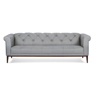 Diez Leather Chesterfield Sofa