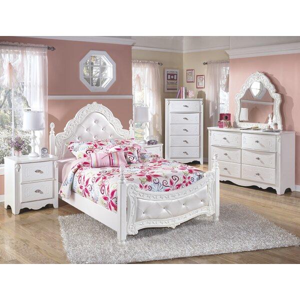 Emma Four Poster Configurable Bedroom Set by Viv + Rae