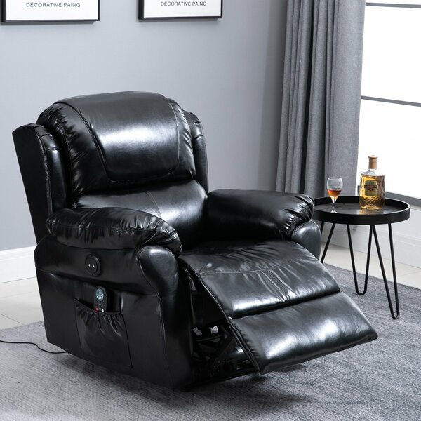 Reclining Heated Massage Chair By Ebern Designs