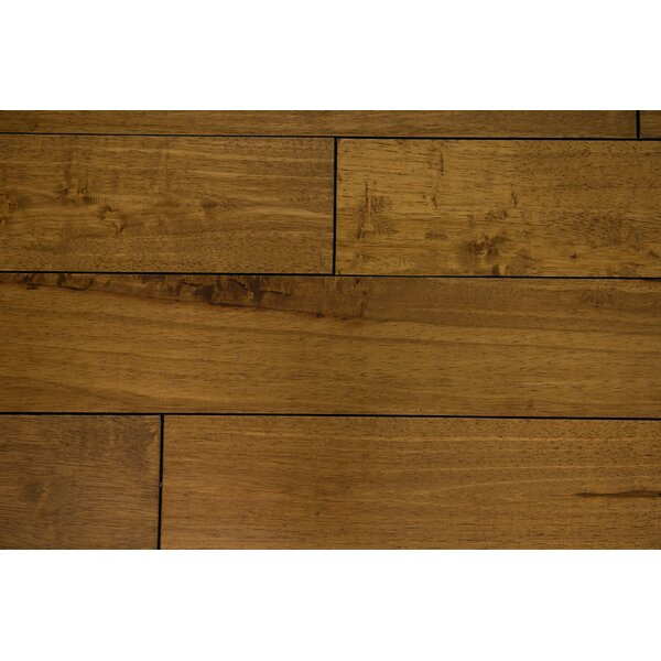 Tropea 4-1/2 Solid Hardwood Flooring in Peanut by Branton Flooring Collection