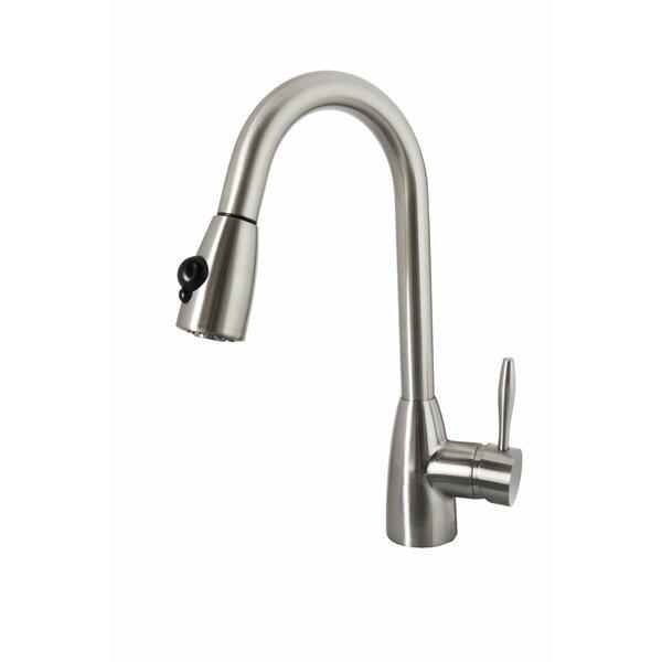 Neptune Single Handle Kitchen Faucet by Virtu USA