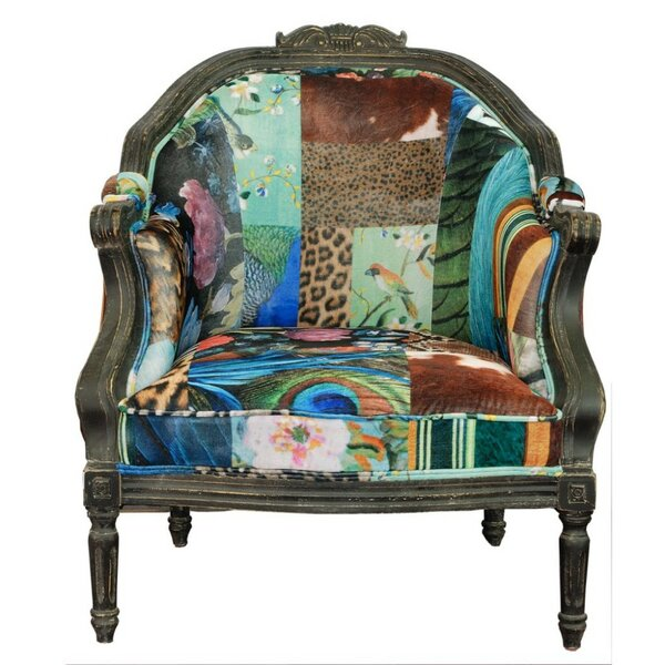 Osseo Armchair by World Menagerie