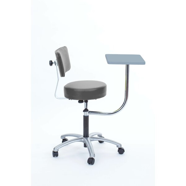 Height Adjustable Stool with Desk by Brandt Industries