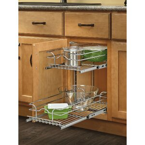 Two Tier Wire Basket