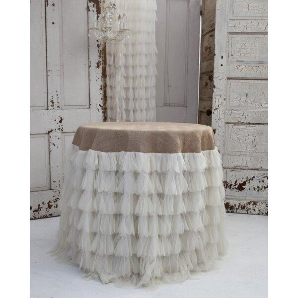 Couture Dreams Chichi Ivory/Jute Tablecloth U0026 Reviews | Wayfair