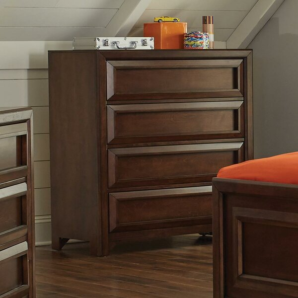 Skiba 4 Drawer Dresser by Harriet Bee
