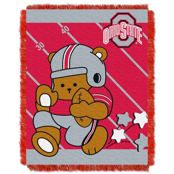 Collegiate Ohio State Baby Blanket by Northwest Co.