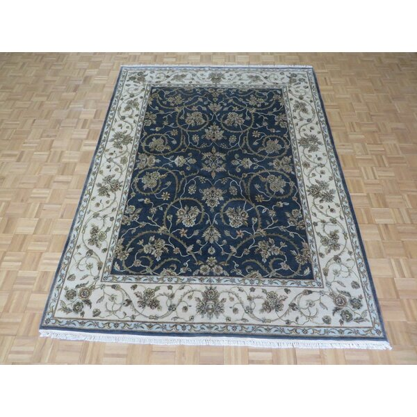 One-of-a-Kind Rhyne Hand-Knotted Wool Charcoal Area Rug by Astoria Grand