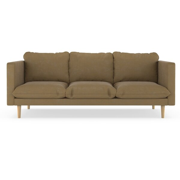 Free S&H Courtemanche Micro Suede Sofa