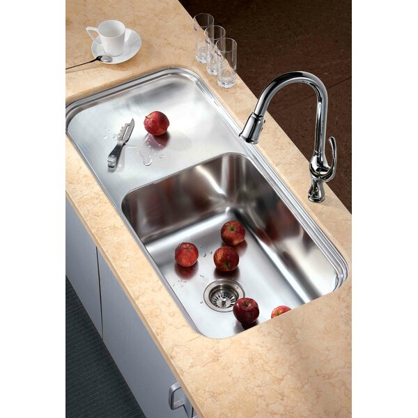 41.38 L x 19.75 W Under Mount Single Bowl Kitchen Sink by Dawn USA