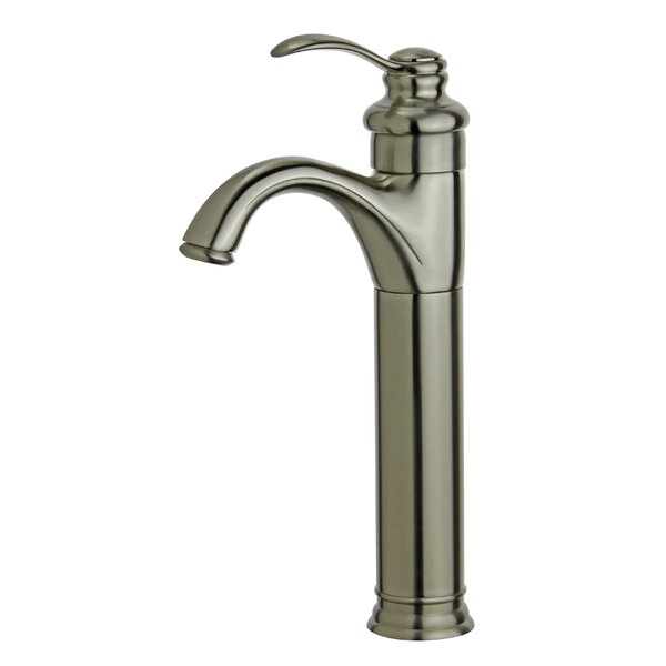 Madrid Single Hole Bathroom Faucet with Drain Assembly