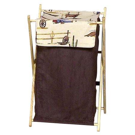 Wild West Cowboy Laundry Hamper by Sweet Jojo Designs