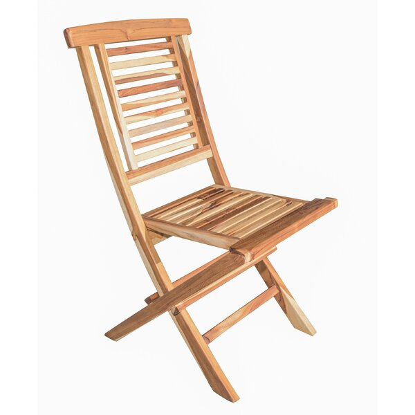 Folding Teak Patio Dining Chair by EcoDecors EcoDecors