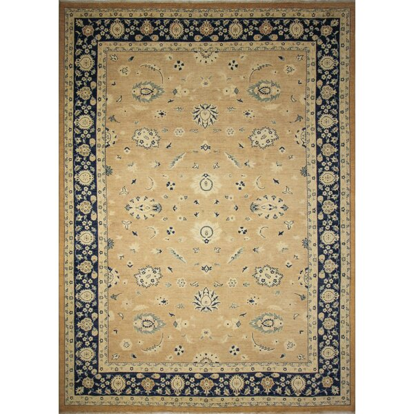 One-of-a-Kind Peshawar Faded Aadil  Hand-Knotted Rust Area Rug by Noori Rug