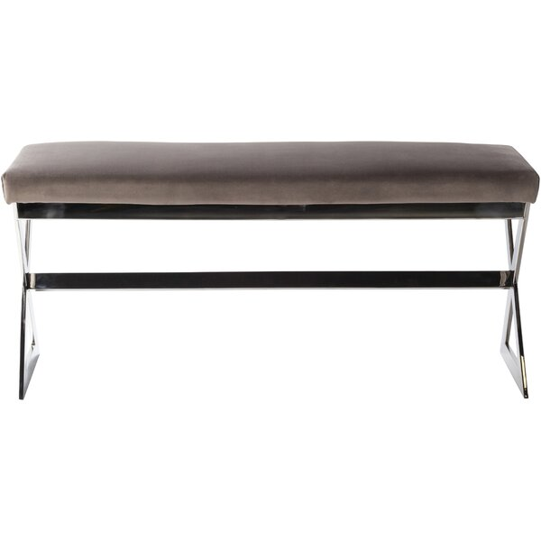 Fawnia Upholstered Bench by Orren Ellis Orren Ellis