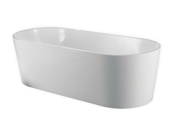 Ovale 66.25 x 31.63 Soaking Bathtub by Kube Bath