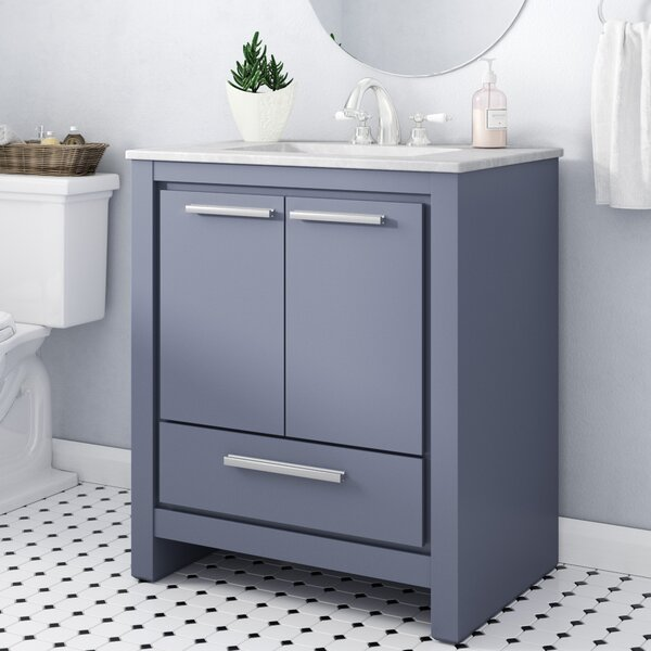 Easterling 30 Single Bathroom Vanity Set by Ebern