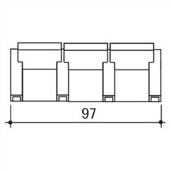 Celebrity Home Theater Row Seating (Row Of 3) By Bass