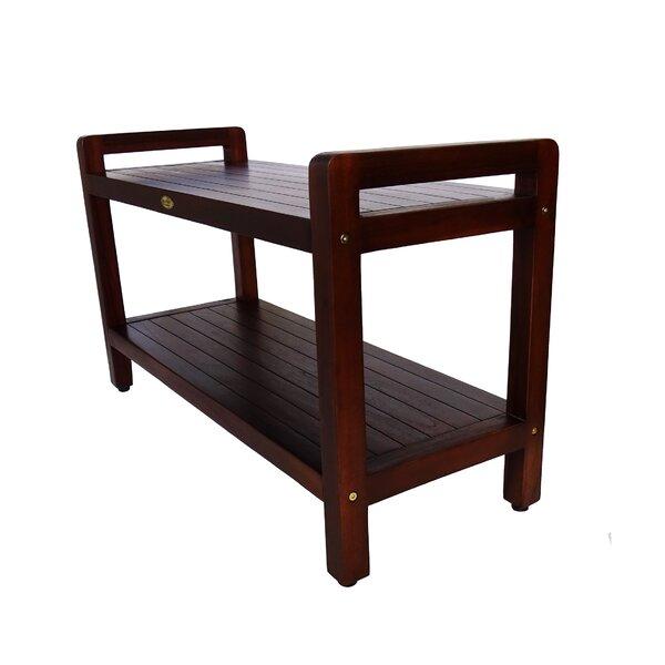 LiftAide Teak Garden Bench