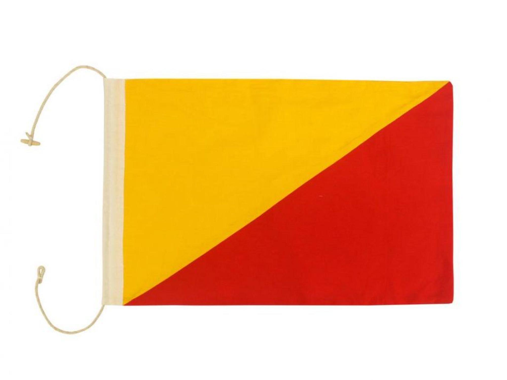 Handcrafted Nautical Decor Letter O Cloth Nautical Alphabet Flag ...