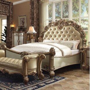 Shop Welles Upholstered Panel Bed ByAstoria Grand