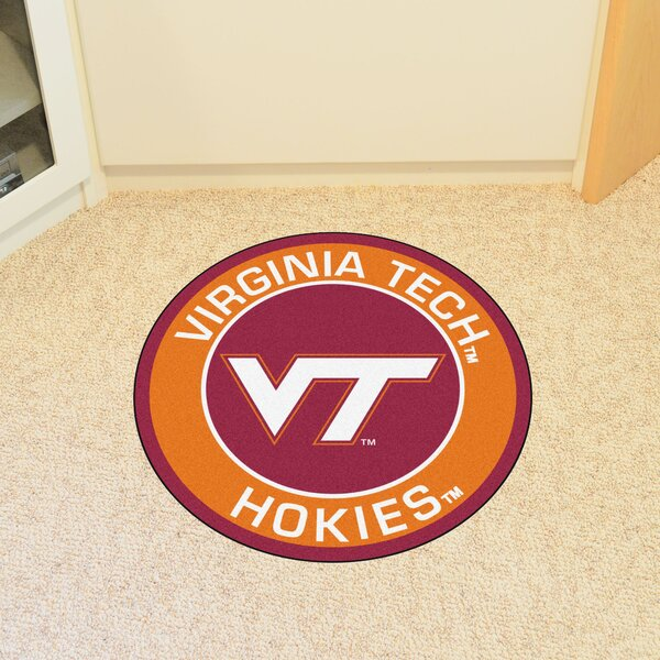 NCAA Virginia Tech Roundel Mat by FANMATS