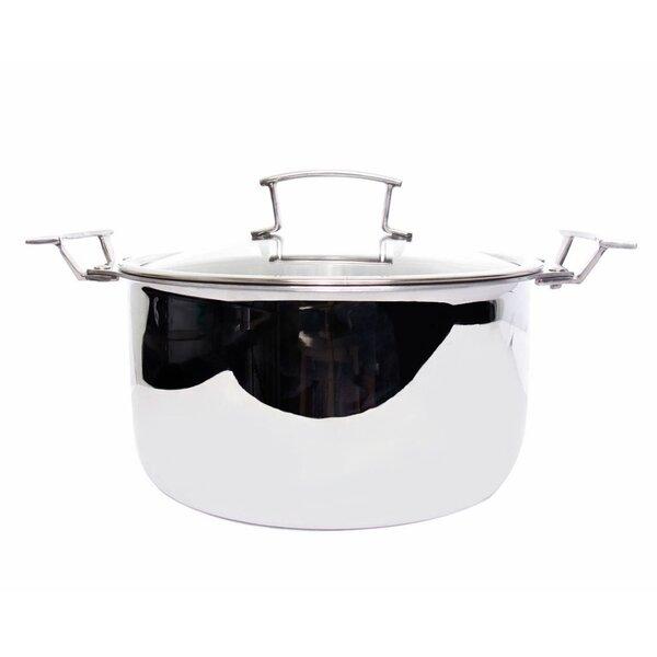 Gourmet 5-qt. Soup Pot with Lid by True Induction