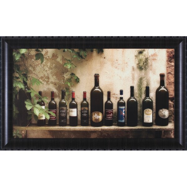 Vino by Jim Chamberlain Framed Photographic Print by Art Effects