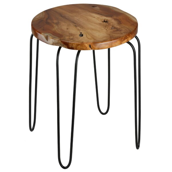 Chapeau End Table by Union Rustic