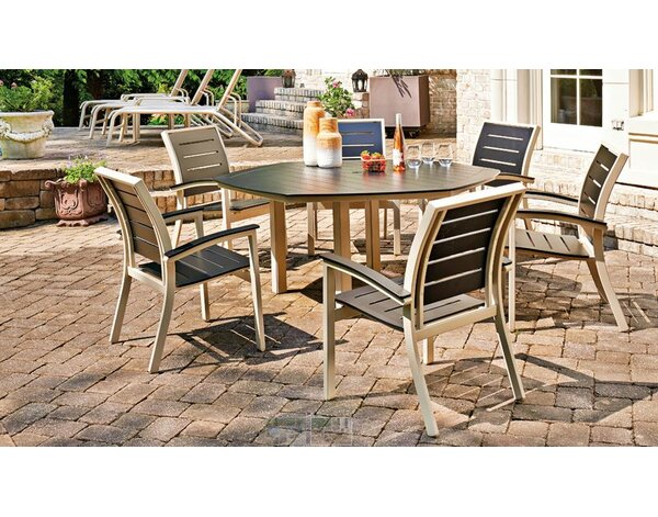 Bazza Stacking Patio Dining Chair (Set of 4) by Telescope Casual