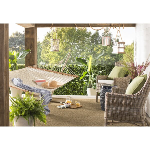 Ector Quilted Hammock with Stand by Charlton Home