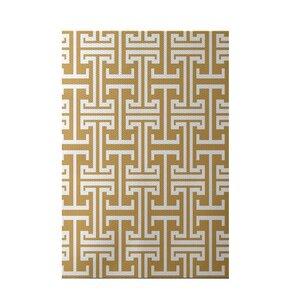Greek Isles Geometric Print Dijon Indoor/Outdoor Area Rug