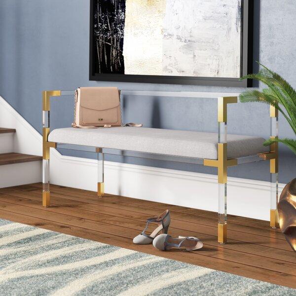 O'Hara Upholstered Bench by Willa Arlo Interiors Willa Arlo Interiors