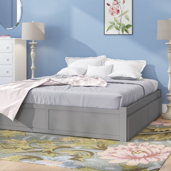 Bolick Full Platform Bed with Trundle by Isabelle & Max