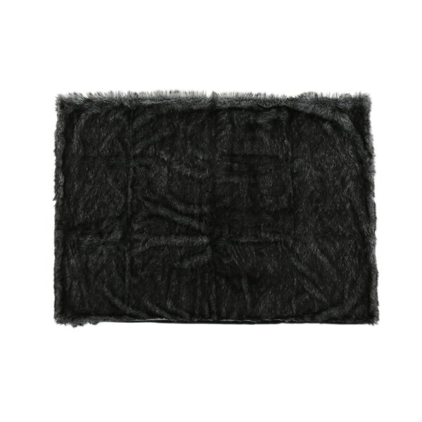 Hamblen Faux Fur Blanket by Greyleigh