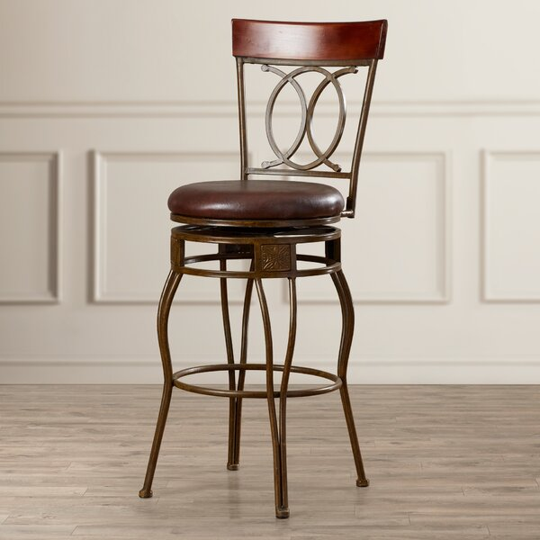 Schaumburg 30 Swivel Bar Stool by Darby Home Co