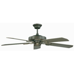 Price Check 52 French Quarter 5-Blade Ceiling Fan By Concord Fans