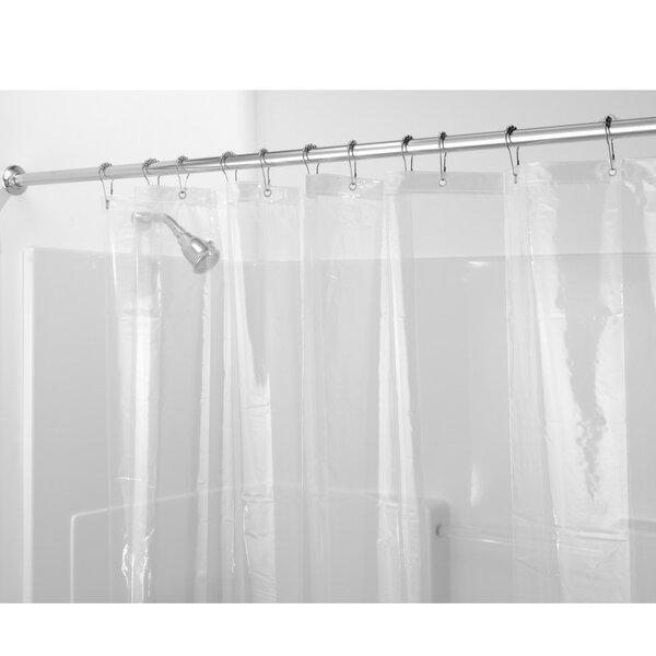 Zora Vinyl Shower Curtain Liner by InterDesign
