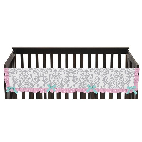 Skylar Long Crib Rail Guard Cover by Sweet Jojo Designs
