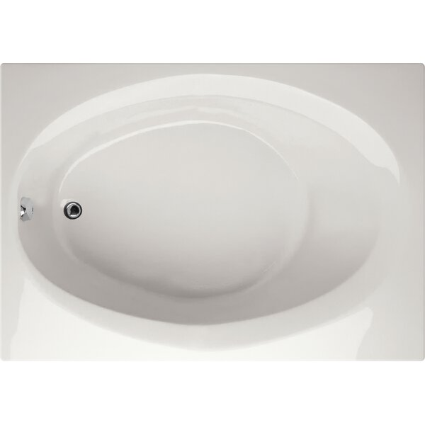 Designer Ovation 72 x 42 Soaking Bathtub by Hydro Systems