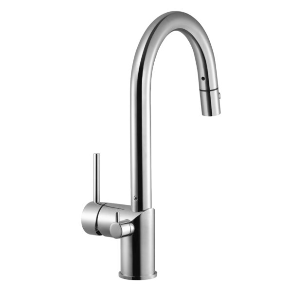 Sentinel Pull-down Single Handle Kitchen Faucet by Houzer