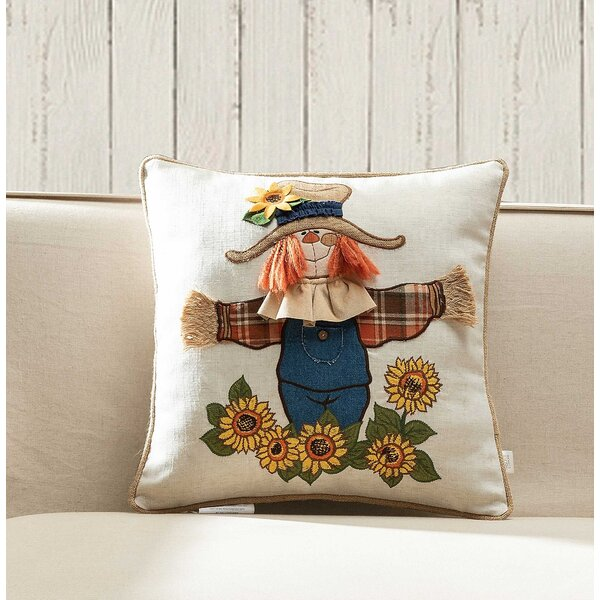Valenzuela Scarecrow Throw Pillow by August Grove