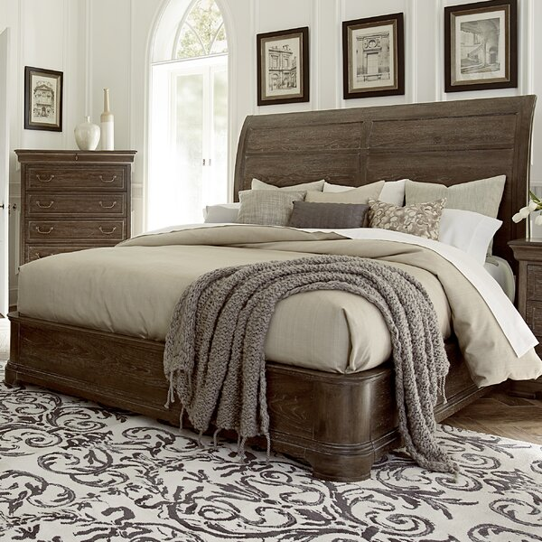 Pond Brook King Standard Bed by Darby Home Co